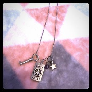 Origami Owl Tagged Necklace